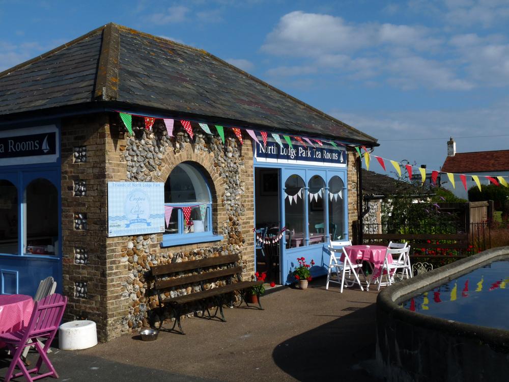 North Lodge Park cafe
