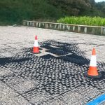Bodpave as installed in the NNDC Overflow car park