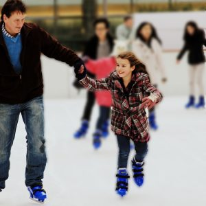 Synthetic Ice Rink in Cromer