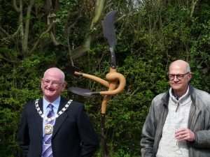 Cllr John Lee and Bob Catchpole