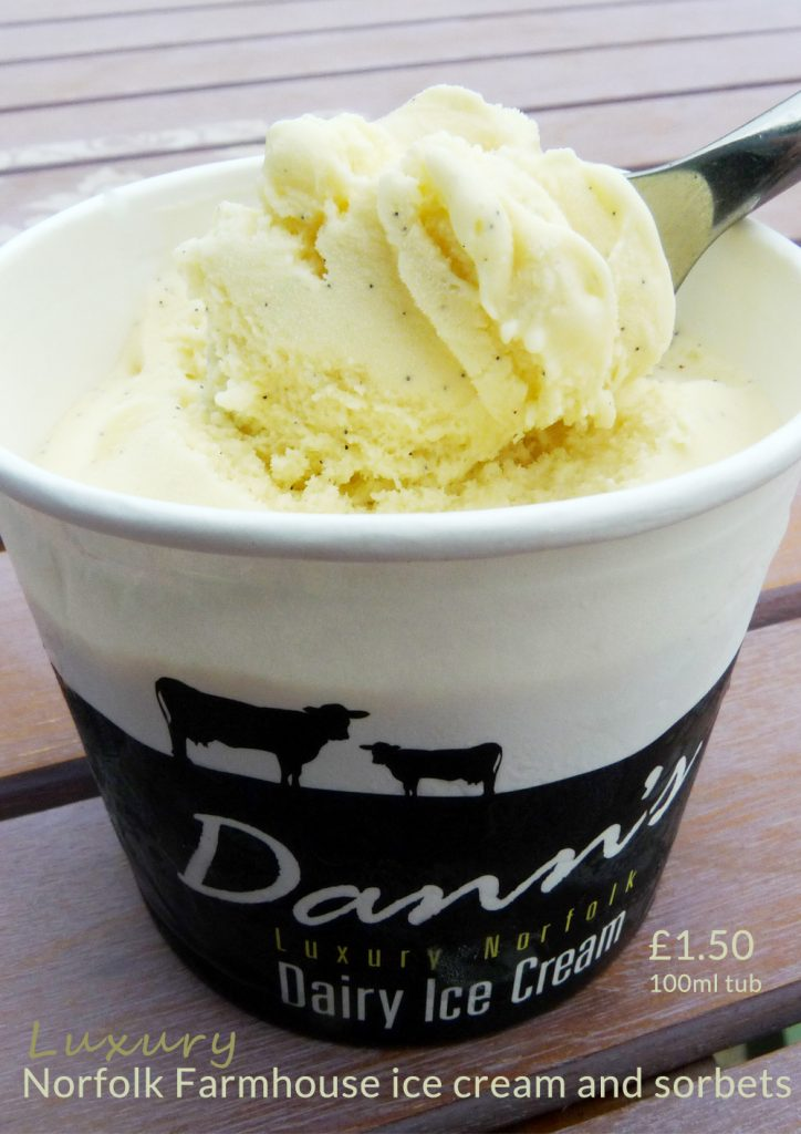 dann's farm luxury norfolk icecream