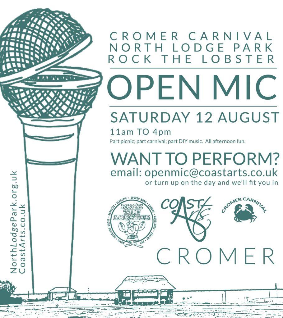 Cromer carnival Open Mic