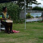 African Drumming in the Park, with Anna Mudeka