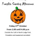 Pumpkin Carving in the Park