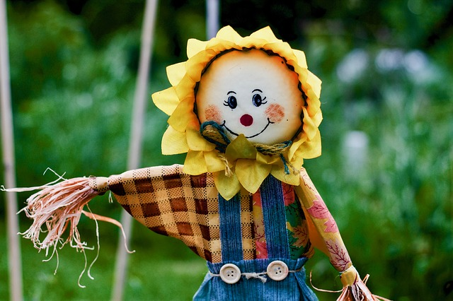 mini scarecrow competition