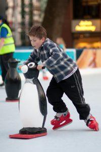 synthetic ice skating in Cromer