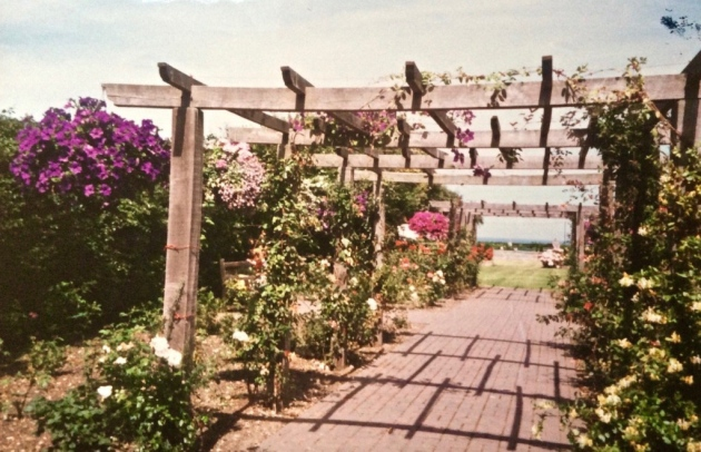 Cromer's North Lodge Park in full bloom in the early 1960s.