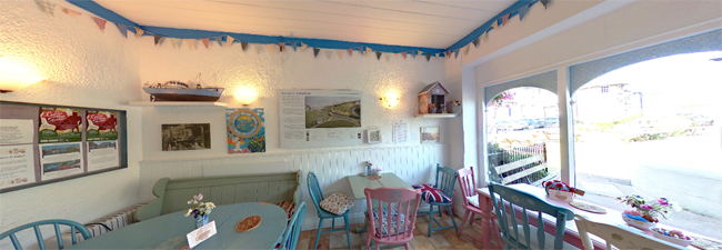 Have a virtual look round the cafe and park in stunning 360 degree images