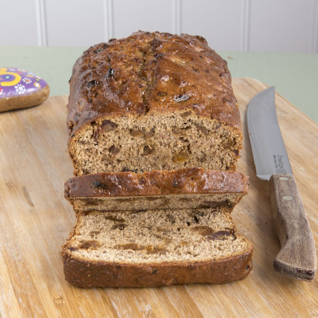 Apricot and Date Tea Loaf