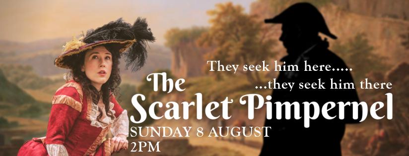scarlet pimpernel - outdoor theatre in cromer